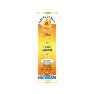 Complexe n°3 Biofloral force et volonté en granules de 10 ml 366776