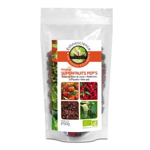 Mélange de 4 superfruits croquants bio - 250 gr 367142