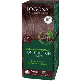 Soin colorant bio 092 teinte café en boite de 100 g 367165