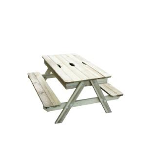 Table picnic enfant avec bac à sable intégré 367457