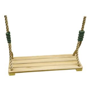 Siège de balançoire en bois pour portique de 1,9 à 2,5 m 367462