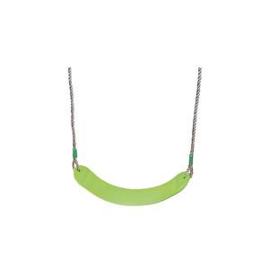 Siège de balançoire en plastique souple vert pour portique de 1,9 à 2,5 m 367467