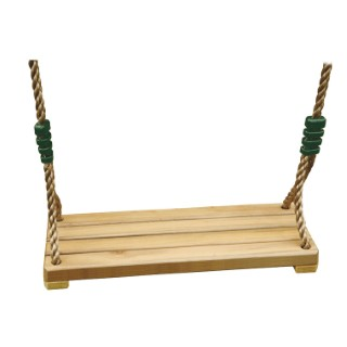 Siège de balançoire en bois de luxe pour portique de 3 à 3,5 m 367468