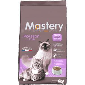 Croquettes pour chat adulte au poisson Mastery 8 kg 367496