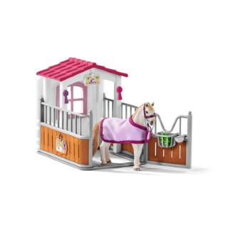 Box avec Jument Lutisanienne Série Horse club 19x10,8x17,3 cm 367505