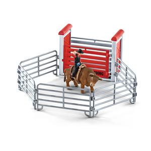 Figurine Cowboy et rodéo Série Ferme 29x16,5x17,2 cm 367512