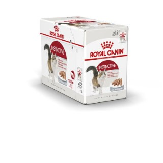 Sachets pour chat Instinctive mousse Royal Canin - 12x85 gr 370987