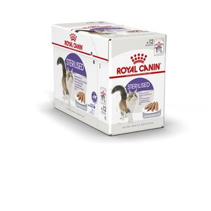 Sachets pour chat Sterilised mousse Royal Canin - 12x85 gr 370988