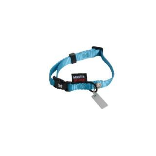 Collier chien réglable 10mm / 25-35cm bleu 37284
