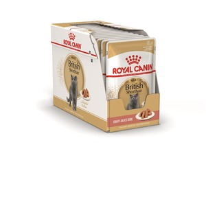 Sachets pour chat British shorthair Royal Canin - 12x85 gr 373034