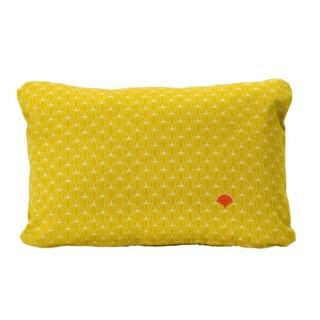 Coussin envie d'ailleurs pastèque jaune miel 44 x 30 cm 373495