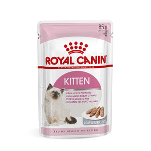 Sachet de Kitten mousse pour chaton Royal Canin - 85 gr 373540