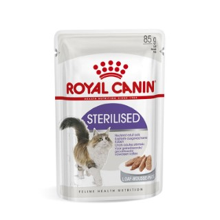 Sachet pour chat Sterilised mousse Royal Canin - 85 gr 373542