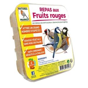 Repas aux fruits rouges beige 315 g 373701