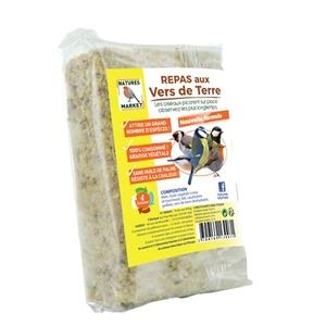Repas aux vers de terre beige 315 g 373702