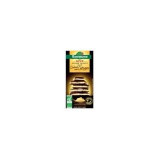 Chocolat noir fourré à la crème de citron Bonneterre bio 100 g 373729
