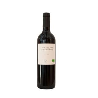 Vin rouge bio méditerranée IGP domaine des Jardinettes 75 cl 373811