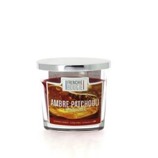 Bougie parfumée parfum ambre patchouli - Petit modèle 374416
