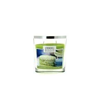 Bougie parfumée parfum macaron - Petit modèle 374419