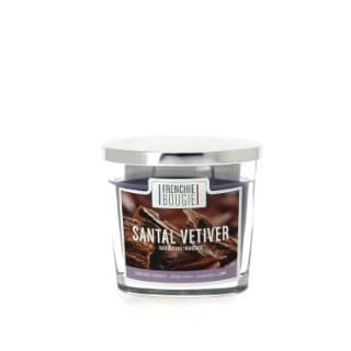 Bougie parfumée parfum santal vétiver - Petit modèle 374421