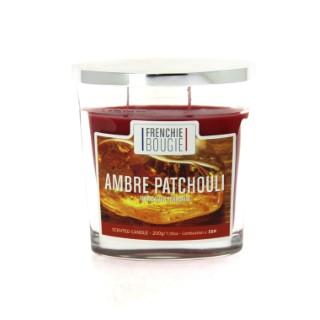 Bougie parfumée parfum ambre patchouli - Grand modèle 374430