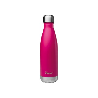 Bouteille isotherme Qwetch inox Rose 500 ml H 27 cm 374555