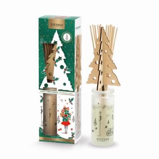 Bouquet parfumé + recharge sapin et ambre - 100 ml 374631