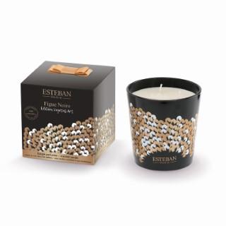Bougie parfumée à la Figue noire - édition végétal art – 500 gr 374641