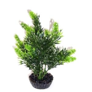 Arbre vert en plastique petit modèle 18 cm 374750