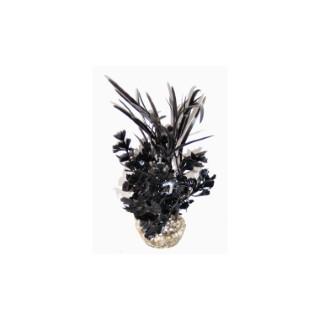 Herbe papillon noire en plastique 374774