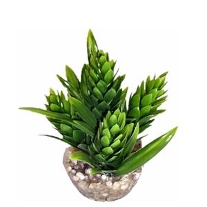 Décor hop vert en plastique 9 cm 374803