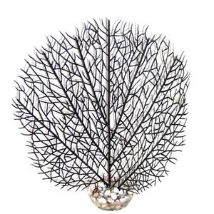 Gorgone noire en plastique 15 x 23 cm 374821