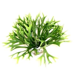 Massif d'algue vert en plastique petit modèle Ø 20 x 14 cm 374847