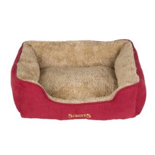 Corbeille pour chien Scruffs Cosy rouge 60x50 cm 374890