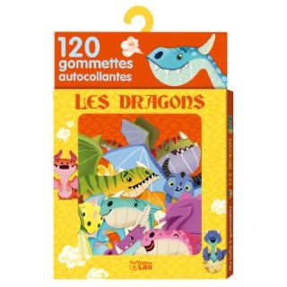 Les Dragons Ma Boîte à Gommettes 3 ans Éditions Lito 374981