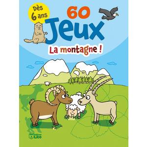 60 Jeux à la Montagne Bloc Jeux 6 ans Éditions Lito 374985