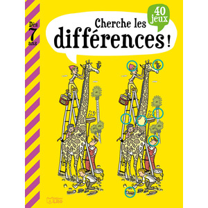 Cherche les Différences Mon Grand Livre de Jeux 7 ans Éditions Lito 374987