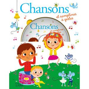Chansons et Comptines à Gestes avec CD  Mes Premières Chansons 3 ans Éditions Lito 374989