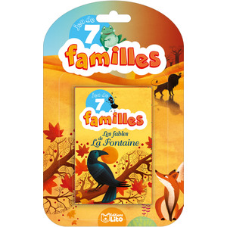 Les Fables de la Fontaine Jeux de 7 Familles 5 ans Éditions Lito 374995