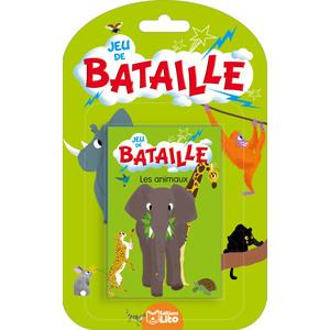 Les Animaux Jeux de Bataille 4 ans Éditions Lito 374996