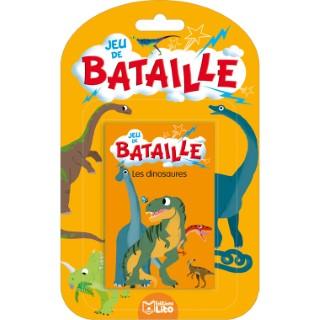 Les Dinosaures Jeux de bataille 4 ans Éditions Lito 374997