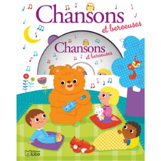 Chansons et Berceuses avec CD  Mes Premières Chansons 3 ans Éditions Lito 375012