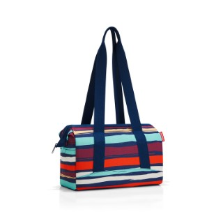 Sac Allrounder taille S rayé multicolore 32x24,5x16 cm 375430