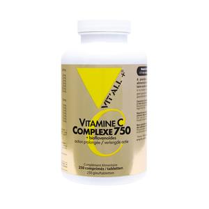 Complexe 750 de vitamine C et bioflavonoïdes en boite 250 comprimés 375454