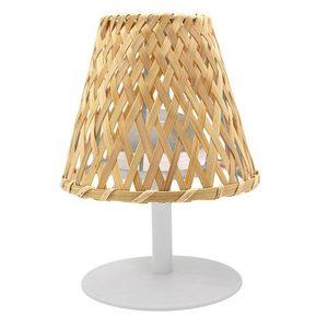 Lampe de table rechargeable sans fil Ibiza beige Ø 19 x 16,5 cm 700422