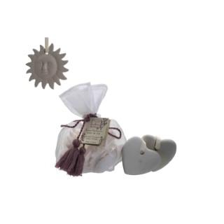 Sachets de terre parfumée Caresse de Satin x 5 378397