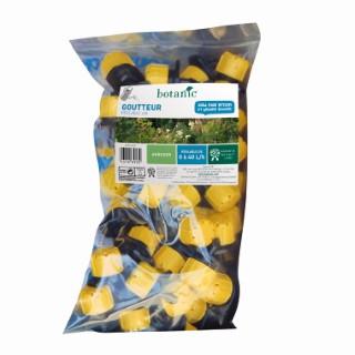 Goutteur réglable jaune x 50 378692