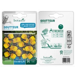 Goutteur réglable jaune x 25 378721