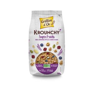 Krounchy aux super fruits bio 500 g 378925