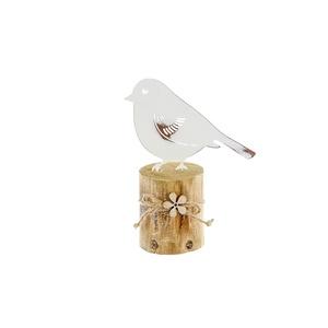 Oiseau support bois - Petit modèle 379021